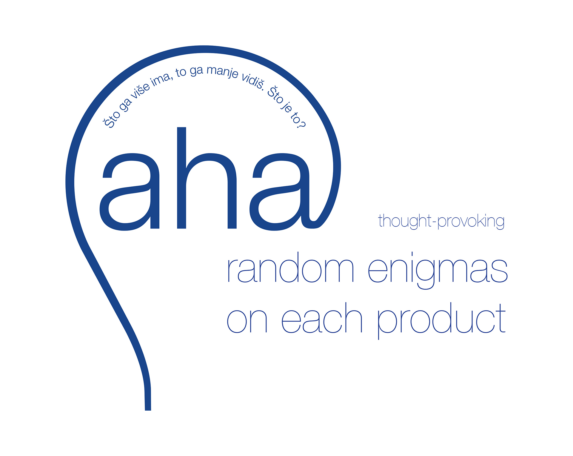 Aha light bulb packaging enigma