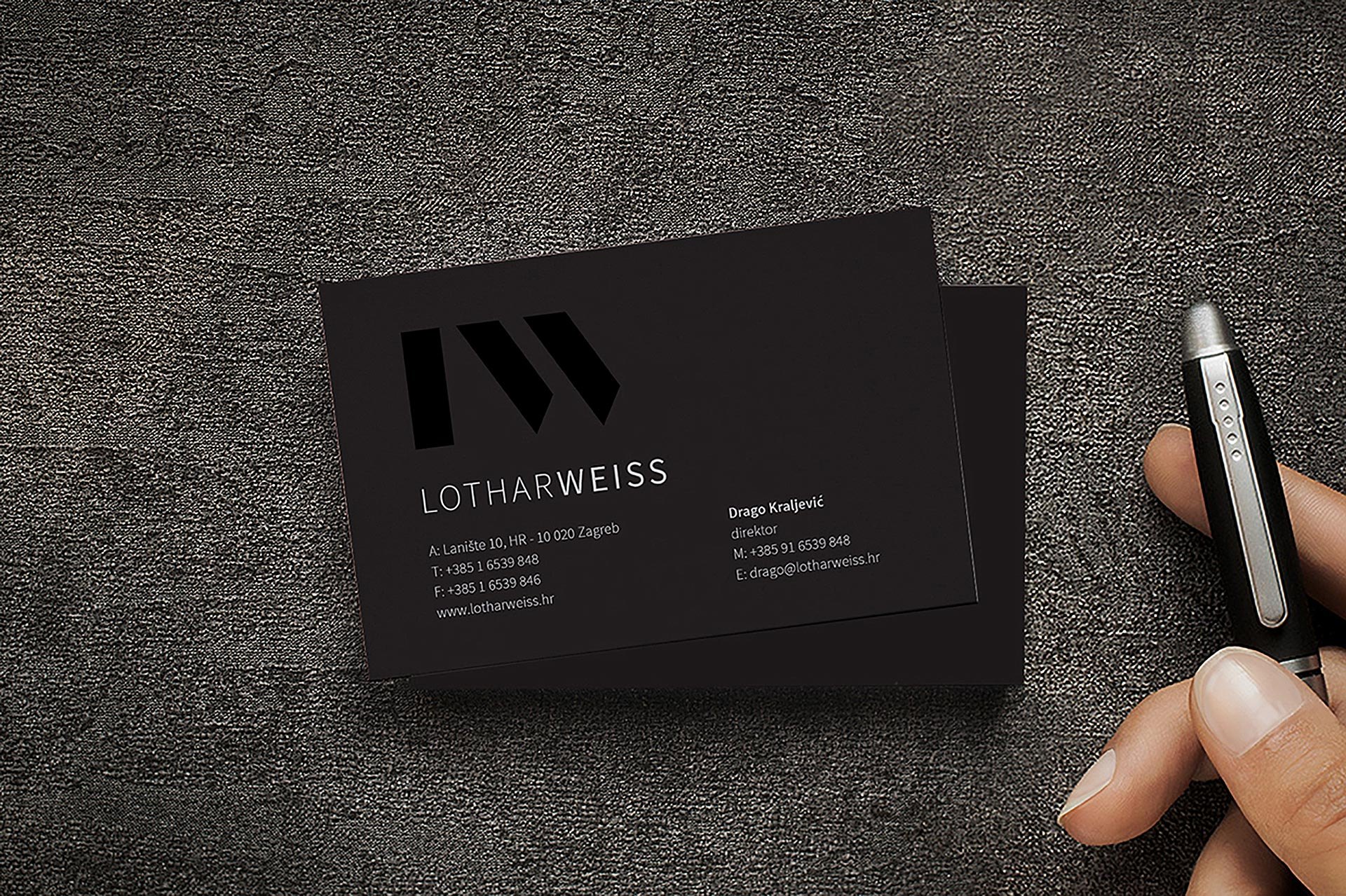 Business card Posjetnica