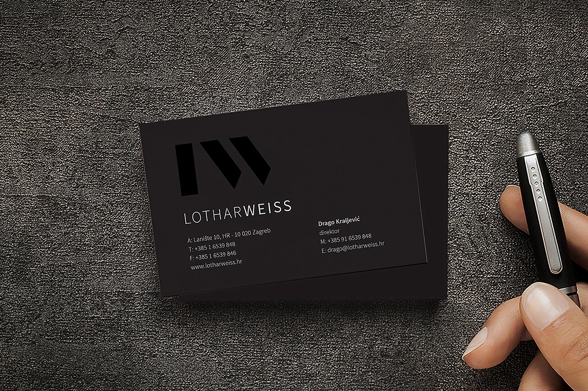 Business card Posjetnica