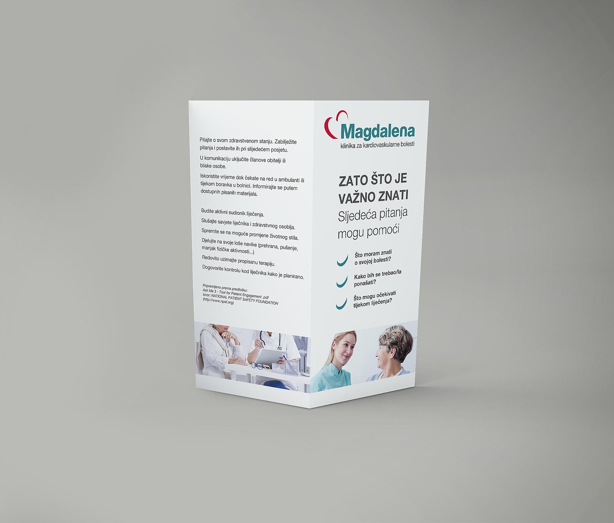 Clinic Magdalena flyer
